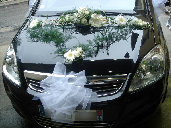 decoration voiture mariage sans fleurs. Black Bedroom Furniture Sets. Home Design Ideas
